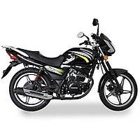 Дорожній мотоцикл Musstang Region MT150-8 Чорний