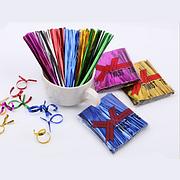 Декоративная проволока-завязка 10см Twist Tie - Синяя