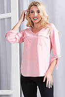 Жіноча блуза з рукавами трансформерами , 5 кольорів  .Р-ри 44-48
