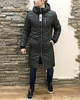 Куртка мужская парка теплая Asos classic болотная