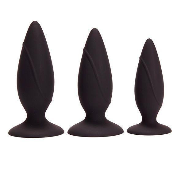 Набор анальных пробок Pornhub Anal Training Kit, макс. диаметр 3см - 3,6см - 4см