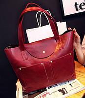 Стильная сумка-шоппер 2 в 1! Привлекательная сумка. Женская сумка. Интернет магазин. Доступная цена. Код: КЕ95