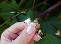 Нежное кольцо с жемчугом, фото 1
