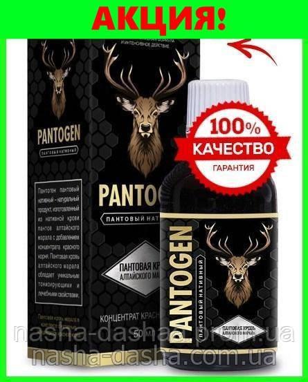 Pantogen - Вернет потенцию с первого приема! (длительного действия)