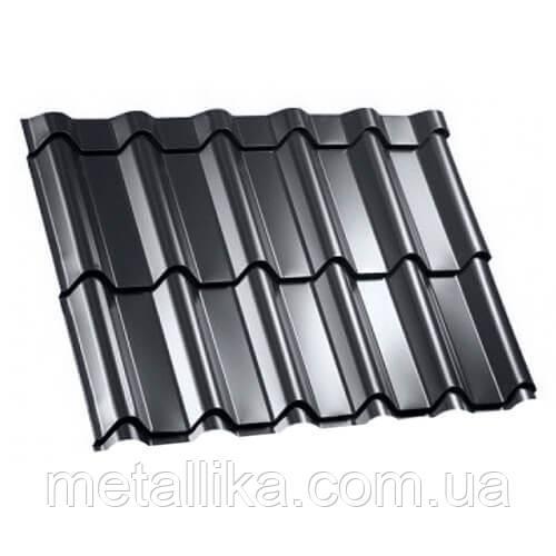 Металлочерепица ВК Металика Фора 0,4 мм Китай PE ral 7024