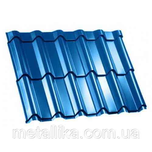 Металлочерепица ВК Металика Фора 0,5 мм Китай PE ral 5005