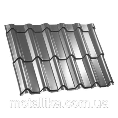 Металлочерепица ВК Металика Фора 0,5 мм Китай PE ral 9006