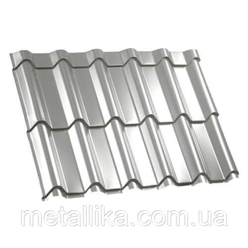 Металлочерепица ВК Металика Фора 0,45 мм Корея DONGBU Steel PE ral 9003