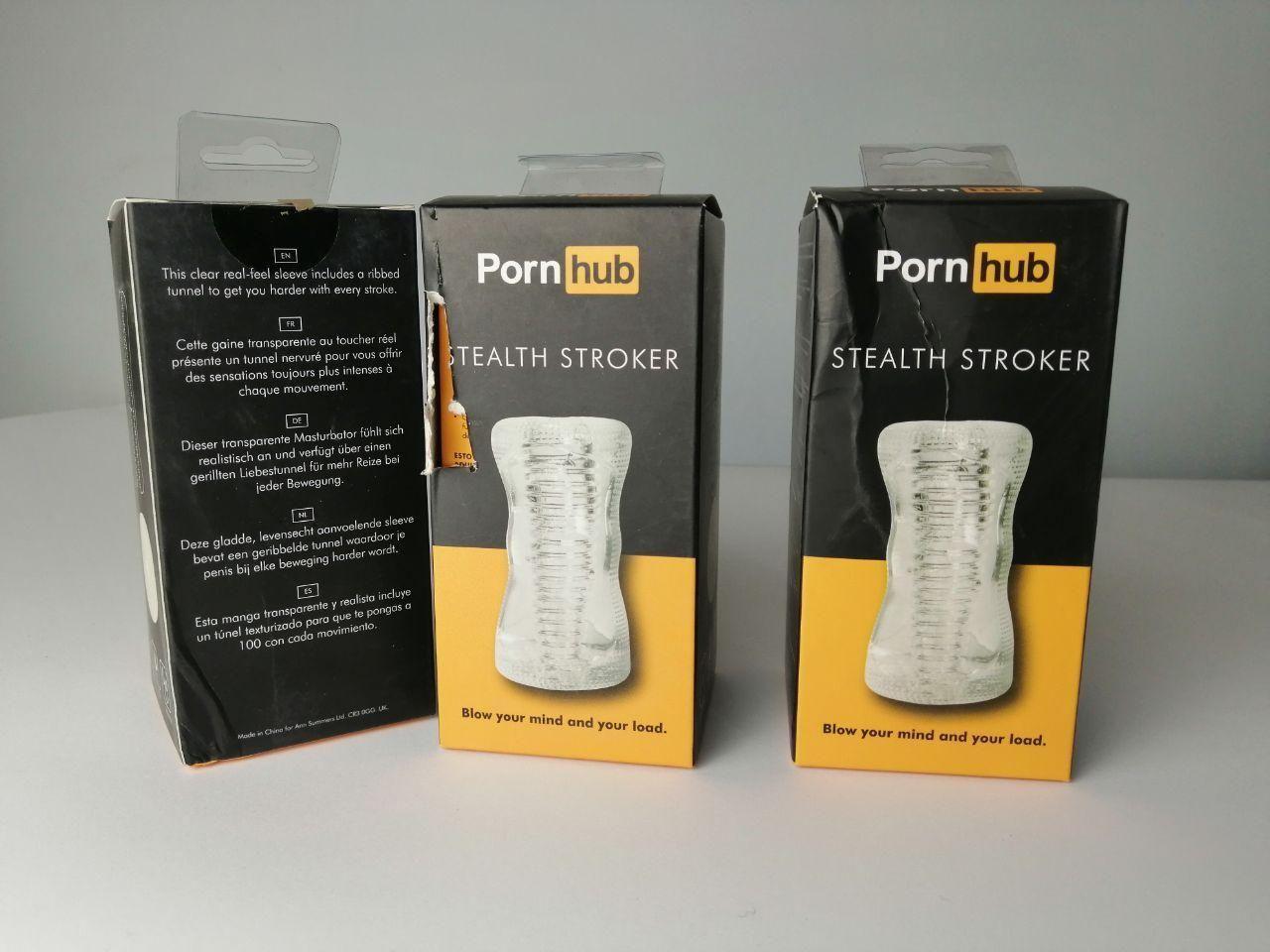 Мастурбатор Pornhub Stealth Stroker (испорченная упаковка)