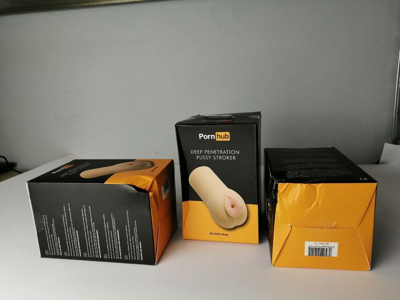 Мастурбатор Pornhub Deep Penetration Stroker (испорченная упаковка)