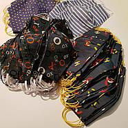 Тканинна маска багаторазова для особи опт і роздріб (колір ХО), фото 2