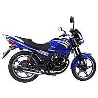 Дорожній мотоцикл Musstang Region MT150-8 Синій