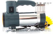 Компрессор, 12V, 7Атм, 30л/мин, фонарь, прикуриватель, кабель 3м, шланг 1м DK31-001A