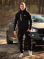 Спортивный костюм мужской Puma BMW Motorsport xx black весенний осенний | ЛЮКС качество