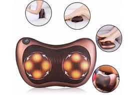 Масажна подушка Massager Pillow 8028 8 роликів для шиї і плечей