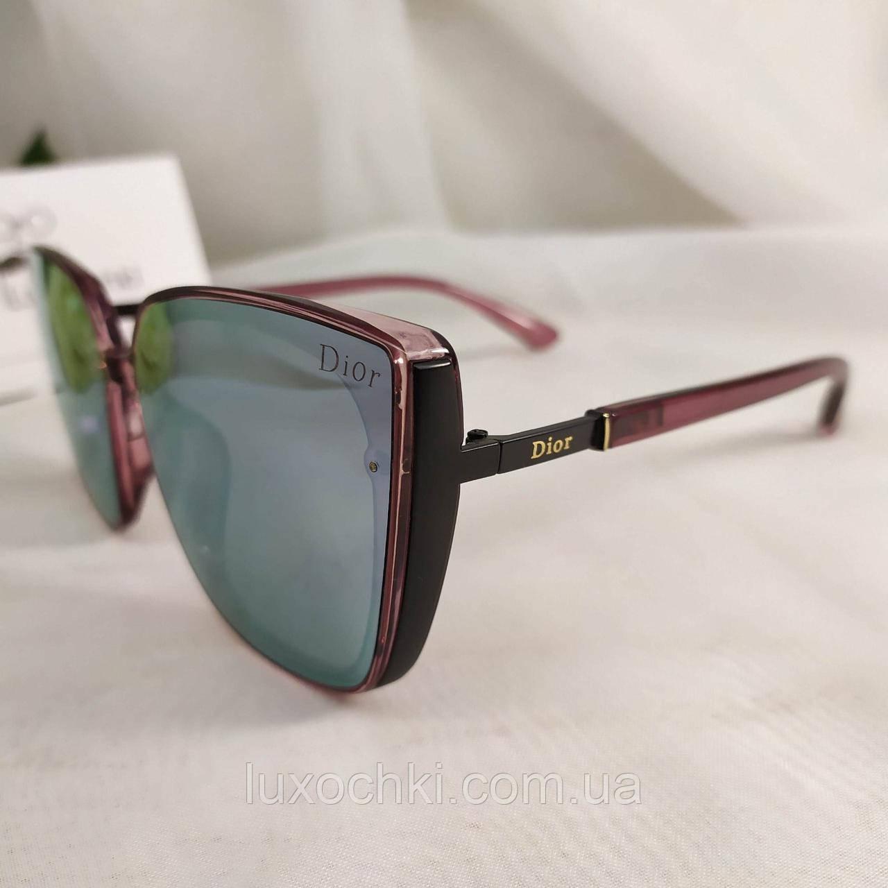 Жіночі стильні поляризовані окуляри з дзеркальними лінзами