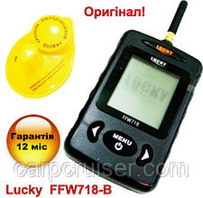 Lucky FFW718-BLK Бездротовий ехолот для риболовлі нова версія в чорному корпусі, новий дизайн