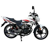 Дорожній мотоцикл Musstang Region MT200-8 Білий
