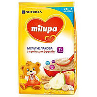 Каша молочная мультизлаковая с смесью фруктов 7м+ 210г Milupa Nutricia 115391
