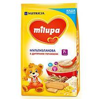 Каша молочная мультизлаковая с печеньем 7м+ 210г Milupa Nutricia 115395