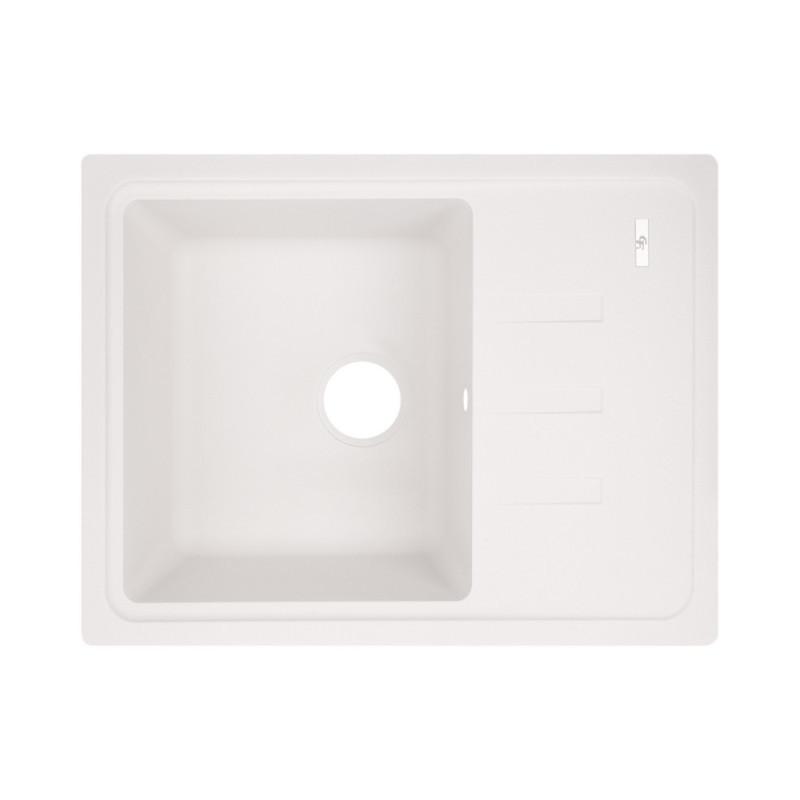 Кухонная мойка GF 620x435/200 WHI-01 (GFWHI01620435200)