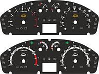 Новые дизайны шкал на Chevrolet Aveo t250