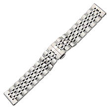 Ремешок BeWatch classic стальной Link шириной 22 мм универсальный Silver (1021405.9)