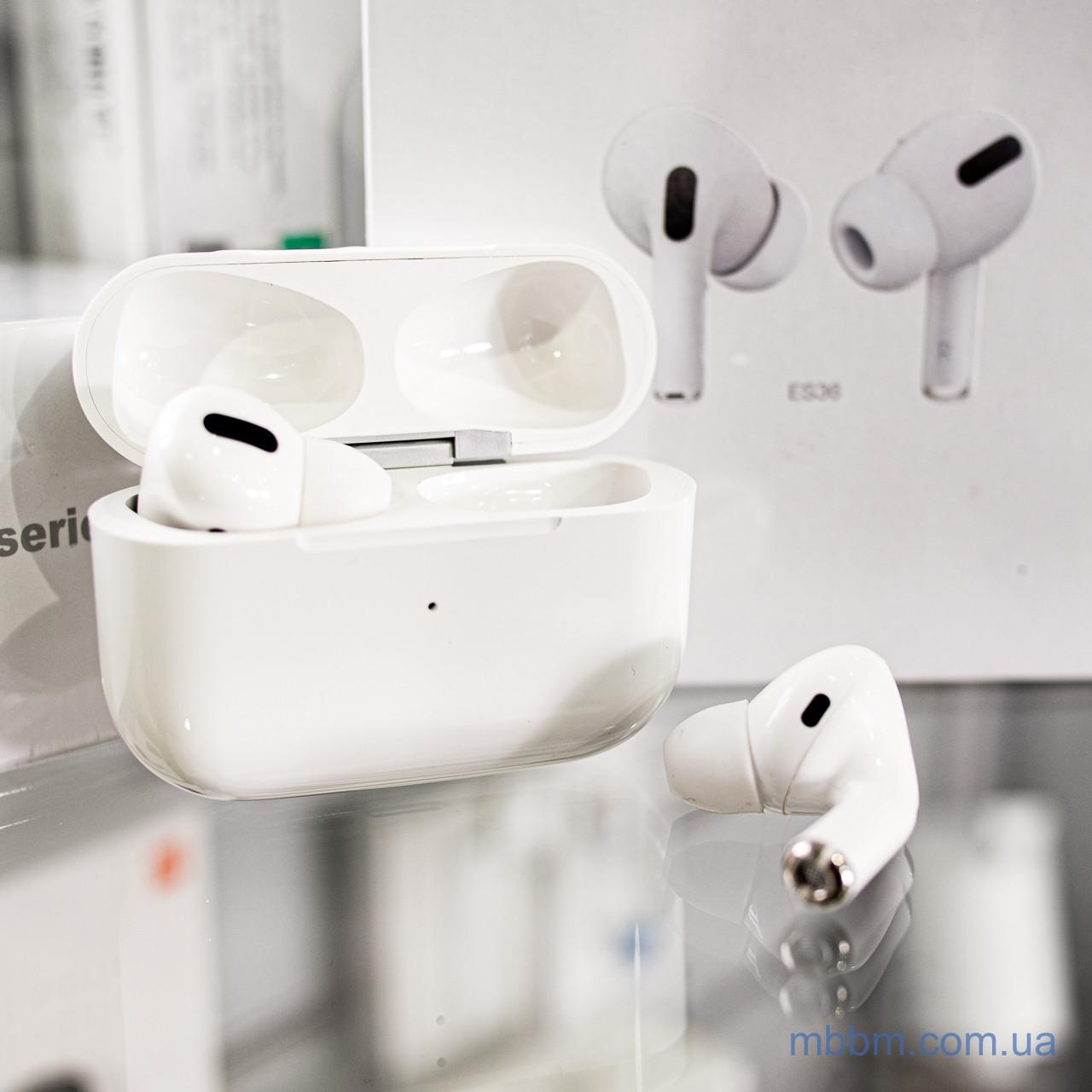 Беспроводные наушники Bluetooth hoco. ES36 Original +Чехол в подарок! Пластик Без крепления Наушники Белый Внутриканальные Apple Lightning USB A