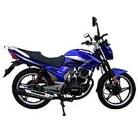 Дорожній мотоцикл Musstang Region MT200-8 Синій, фото 1