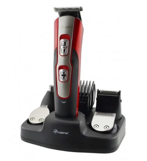 🔥 Машинка для стрижки GEMEI GM-592 10 в 1, Универсальная машинка для стрижки, Триммер для носа и ушей, бороды