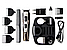 🔥 Машинка для стрижки GEMEI GM-592 10 в 1, Универсальная машинка для стрижки, Триммер для носа и ушей, бороды, фото 6