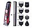 🔥 Машинка для стрижки GEMEI GM-592 10 в 1, Универсальная машинка для стрижки, Триммер для носа и ушей, бороды, фото 7
