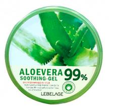Увлажняющий гель с алоэ Lebelage Moisture Aloe Vera 99% Soothing Gel, 300мл