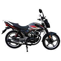 Дорожній мотоцикл Musstang Region MT200-8 Чорний