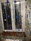 Тюль Декор Горох 170 х 280 Голубой (63006) органза