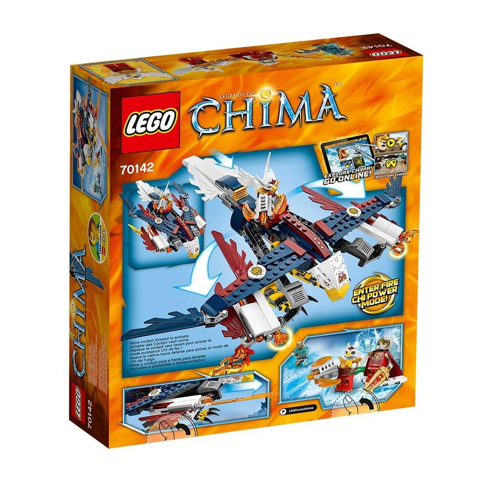 Lego Chima 70142 Вогняний винищувач Орлиці Еріс(Лего Чима Огненный истребитель Орлицы Эрис)