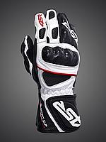 Мотоперчатки 4SR Sport Cup Plus (белые)