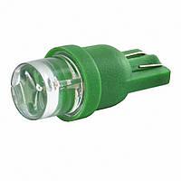 T10 1-SMD LED W5W лампочка автомобильная - зеленый, фото 1