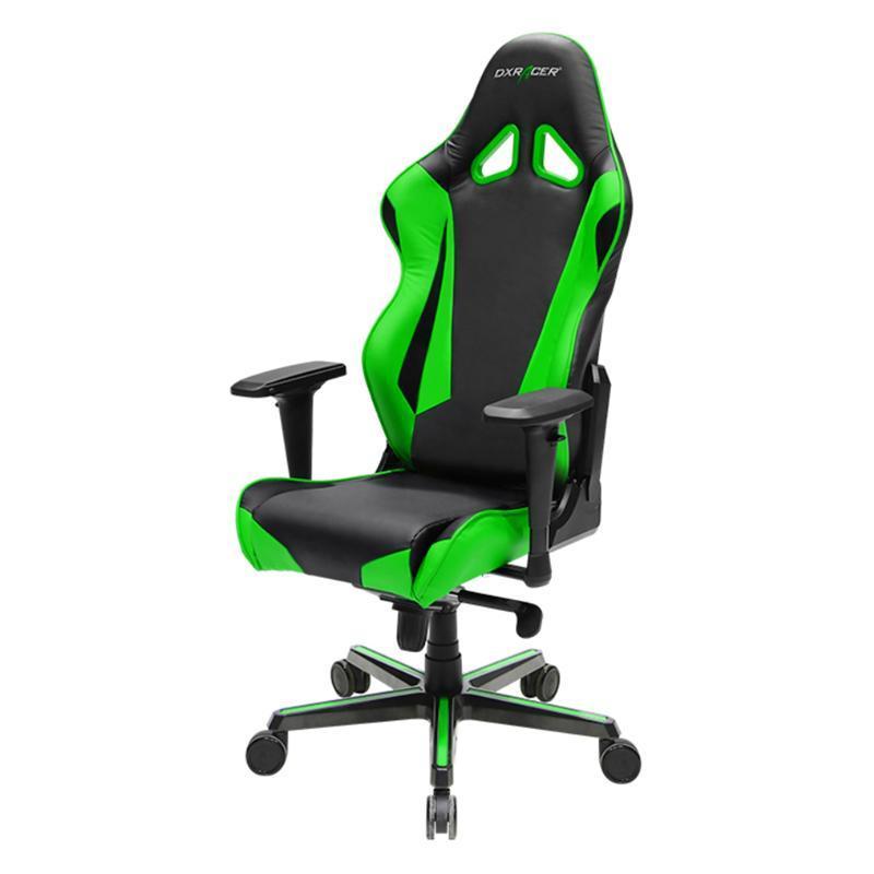 Кресло для геймеров DXRacer Racing OH/RV001/NE Black/Green