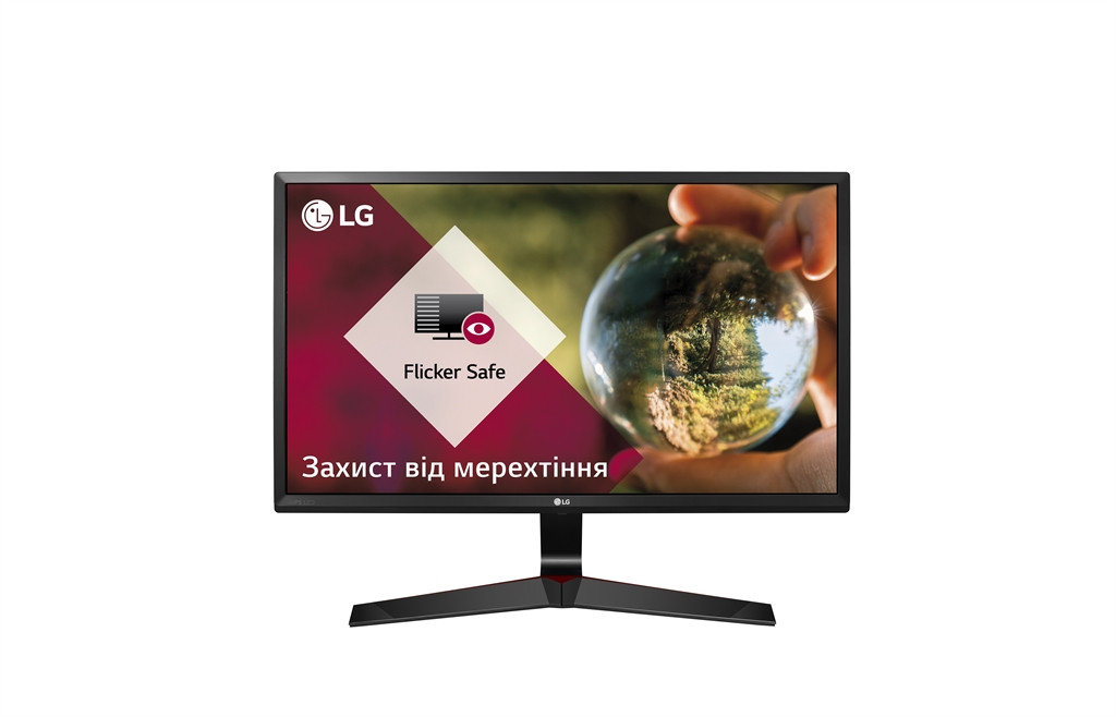 "Монитор LG 23.8"" 24MP59G-P IPS Black; 1920х1080, 1 мс, 250 кд/м2, DisplayPort, HDMI, D-Sub"