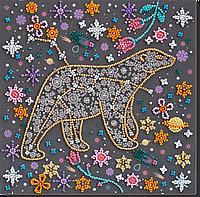 Набор-миди для вышивки бисером Под счастливой звездой (20 х 20 см) Абрис Арт AMB-064