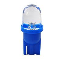 T10 1-SMD LED W5W лампочка автомобильная - синий, фото 1