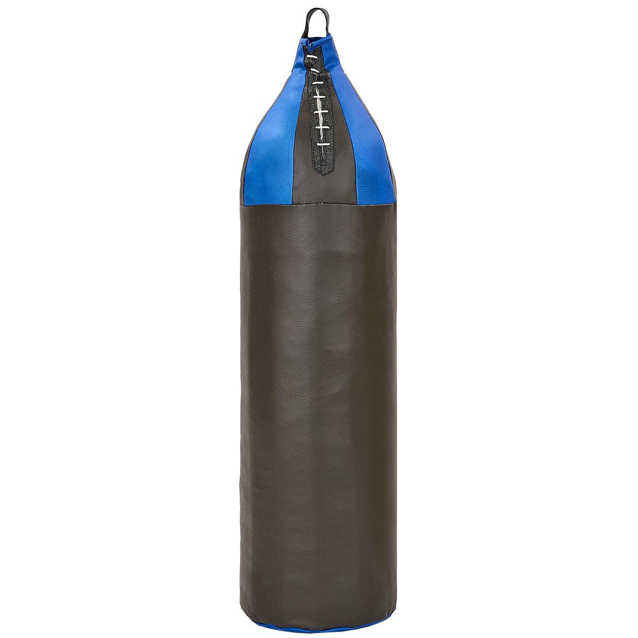 Мешок боксерский Шлемовидный Кирза h-95см Большой шлем BOXER (наполнитель-ветошь х-б, d-26см, вес-16кг,