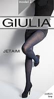 Колготки женские фантазийной коллекции с высоким содержанием хлопка JETAIM 150 (2)