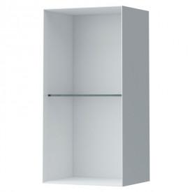 Шкафчик Laufen Palomba со стеклянной полочкой, белый H4071021802201