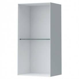 Шкафчик Laufen Palomba со стеклянной полочкой, белый H4071021802201, фото 2