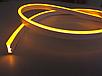 LED НЕОН PREMIUM SL-0054Y SMD 2835/120 12V желтый IP67 (1м) Код.59726, фото 4
