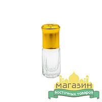 Флакон стеклянный (3мл) с шариком для масляных духов, тара для парфюма