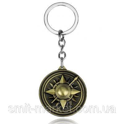 Брелок металлический Игра престолов Герб Мартелл, фото 2