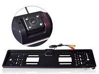 Камера заднього виду у рамці номерного знака HD Night Vision CCD